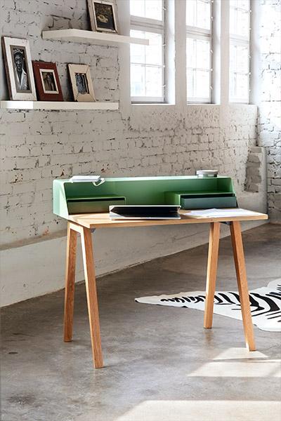 arbeiten in style kontrast m bel leuchten accessoires. Black Bedroom Furniture Sets. Home Design Ideas