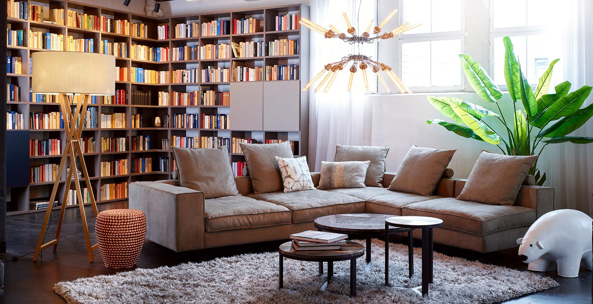 Cozy Leather | KONTRAST - Möbel Leuchten Accessoires